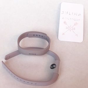 FITBIT FLEX 2  with lavender bands